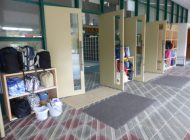荷物棚設置状況②(玄関入り口前ポーチ)
