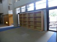 荷物棚設置状況➃(1階廊下)