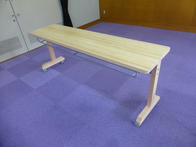 会議用テーブル(奥行400mm)①