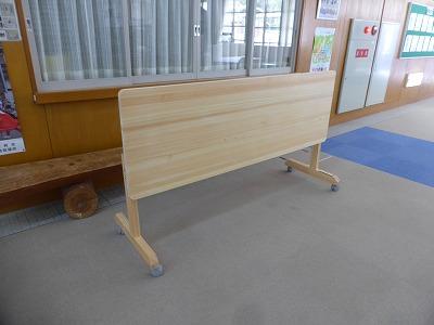 会議用テーブル(奥行600mm)③